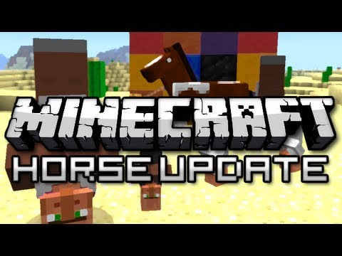 Minecraft: The Horse Update! (Version 1.6 Overview)