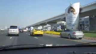 Dubai Traffic Accident (Rolls Royce Phantom)