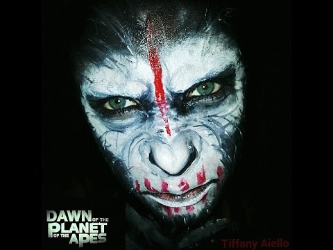 Caesar Monkey Drawing Planet of The Apes Caesar Face