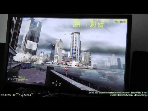 R9 290 (2x) crossfire watercooled - Battlefield 4 test (2560x1440...