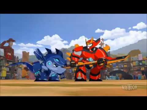 Трансформеры Роботы под прикрытием  Музыкальный клип