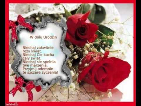 Urodziny Basi     życzenia Od Krystyny