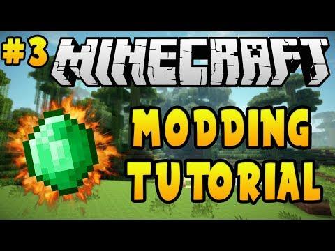 Minecraft 1.12.2: Modding Tutorial - Custom Items (#3)