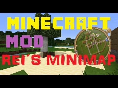 MineCraft 1.5.2 Mod: Rei's Minimap Intalacion+Review