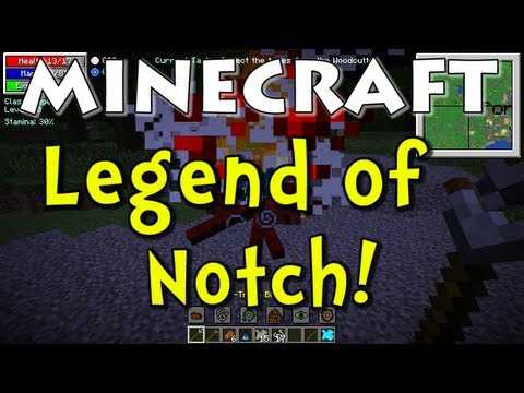 Minecraft Legend of Notch Mod