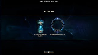 Level 150 glorious capsule opening + revel orbs (LEAGUE OF LEGENDS) EMOTES+GEMSTONE+BORDER