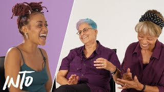 Old Lesbians Give Advice To Young Lesbians
