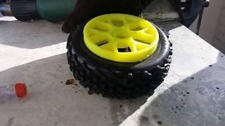 RC Car Tipps Tricks Buggy Reifen - Wie bekomme ich die Reifen am besten von der Felge ab? So geht's!