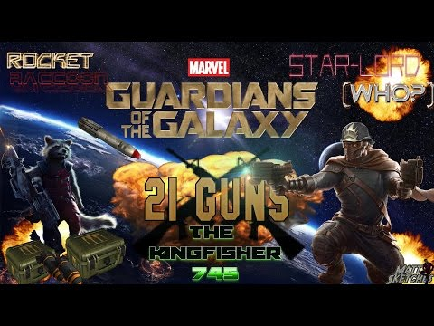 Marvel Avengers Alliance: Movie Rocket and Star Lord Team-up (23 million damage hit)