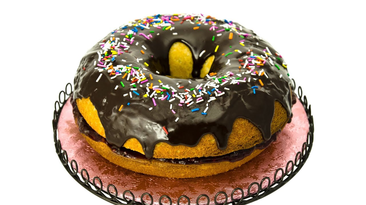 How To Make A Donut Cake By Cookies Cupcakes And Cardio