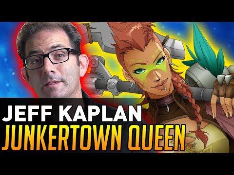 Overwatch | Jeff Kaplan Talks JUNKERTOWN QUEEN!