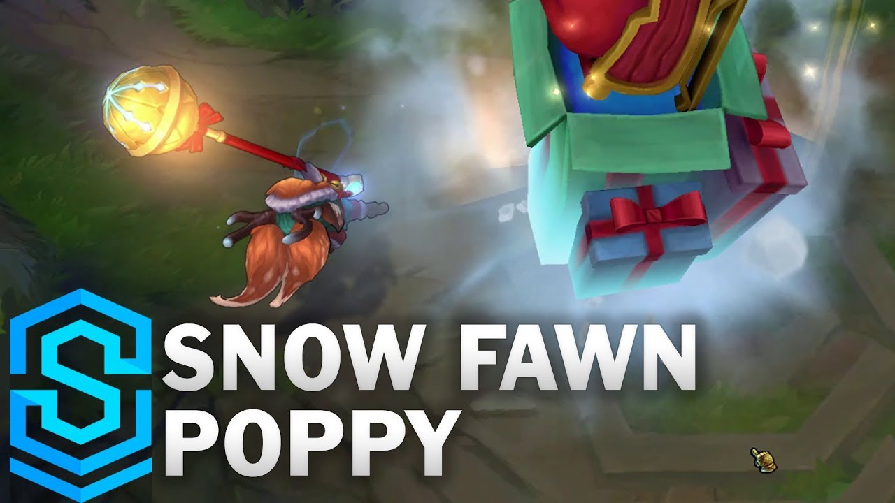 Snow Fawn Poppy Skin Spotlight - Pre-Release - League of Legends