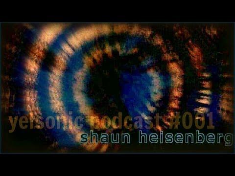 yelsonic podcast #001  Shaun Heisenberg