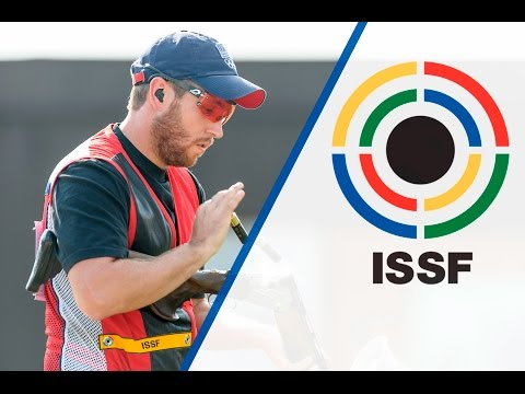 Interview with Vincent Hancock (USA) - 2015 ISSF Rifle, Pistol, Shotgun World Cup in Gabala (AZE)