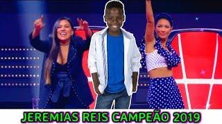FINAL: JEREMIAS REIS CAMPEÃO !? - THE VOICE KIDS BRASIL 14/04/2019  [ JP_PROD´S ]