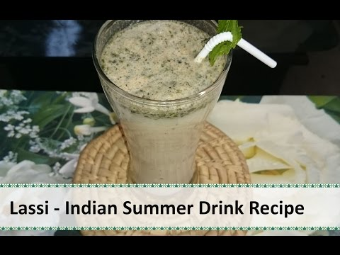 Lassi - Indian Summer Refreshing Drink