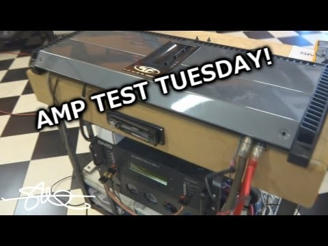Amp Test Tuesday - the BEAST Rockford Fosgate Power T4000.1bd - Rated 4000 Watts RMS