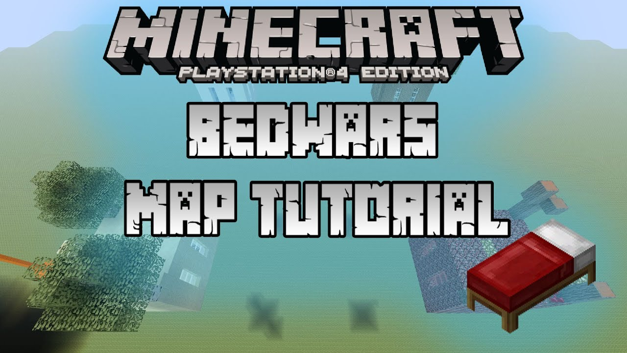 Minecraft Ps4 How To Build Bedwars Mini Game Map 1 Year Of