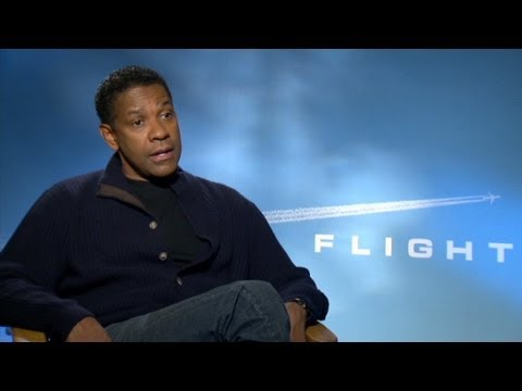 "Denzel Washington Teams Up With Robert Zemeckis In ""Flight"""
