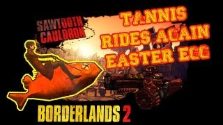 [Easter Egg] Borderlands 2 - Tannis fait du poisson !!! [FR] [HD]