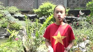 Bé Minh Anh, lớp 5H - trường tiểu học Gia Cẩm (tp Việt Trì)