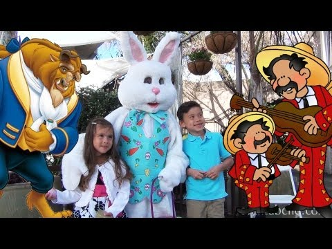 Easter Eggs. Mariachis & Beauty & the Beast!