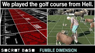 We built and played the worst golf course ever and it was all your fault | Fumble Dimension Ep. 4