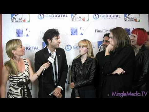 Cast of Oblivion Web Series at the New Media Film Festival Los Angeles