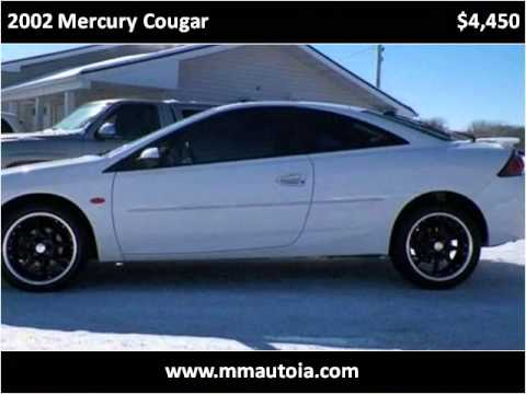 2002 Mercury Cougar Used Cars Cedar Rapids IA