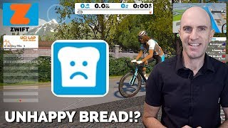 Swift Zwift Tip: What is the 'Unhappy Bread' button!?