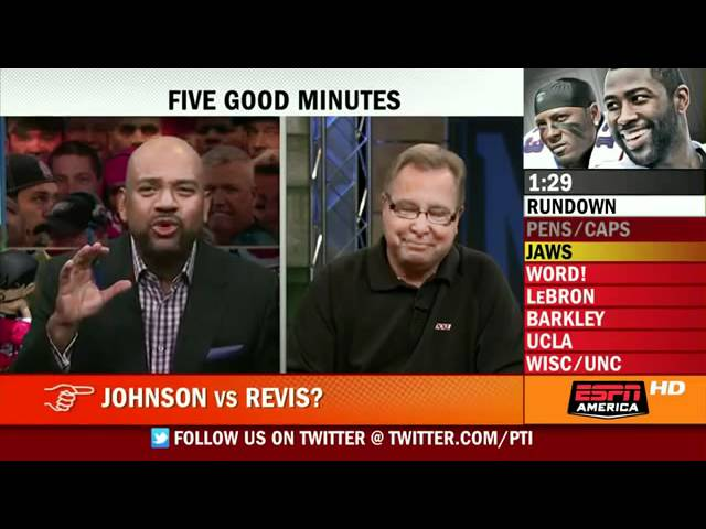 PTI 5 good minutes with Ron Jaworski (1st December 2011