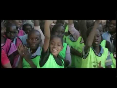 Children in Mozambique enjoy sports at schools