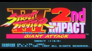 DİZEL ATARİ SALONU Street Fighter III 2nd Impact Giant Attack