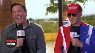 Chael Sonnen and Colby Covington relive their best trash talking moments | UFC 245 | ESPN MMA