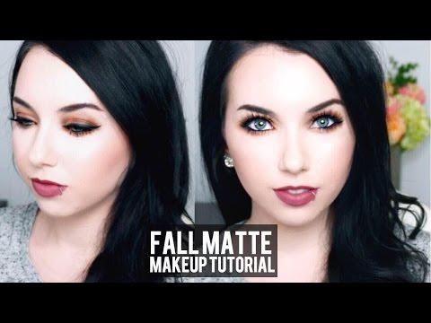Pale Skin Fall Matte Makeup Tutorial & Candy Club Taste Test!
