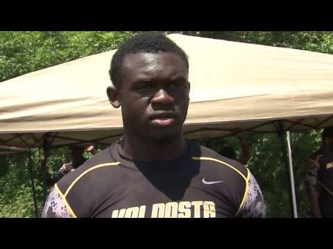 Highlights of Valdosta RB Malcolm Joseph at South Carolina 7on7