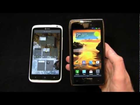 HTC One X vs. Motorola DROID RAZR MAXX Dogfight Part 1