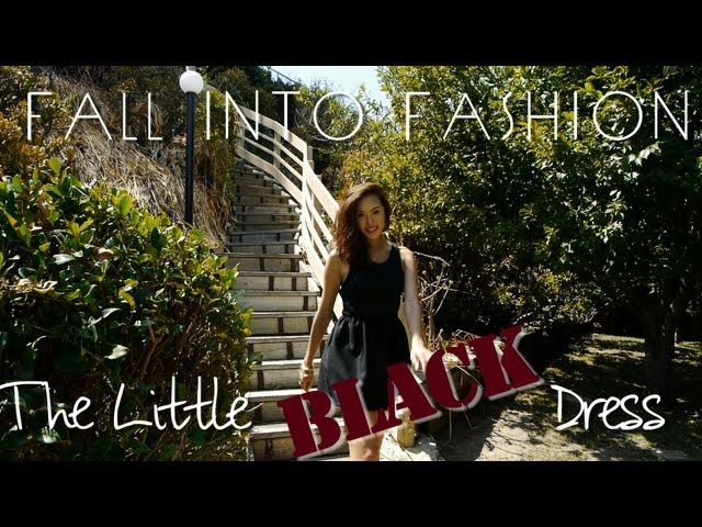 FALL INTO FASHION - Little Black Dress