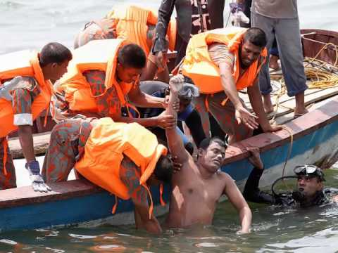 Bangladesh Ferry Capsizes With 100 Passengers on Board