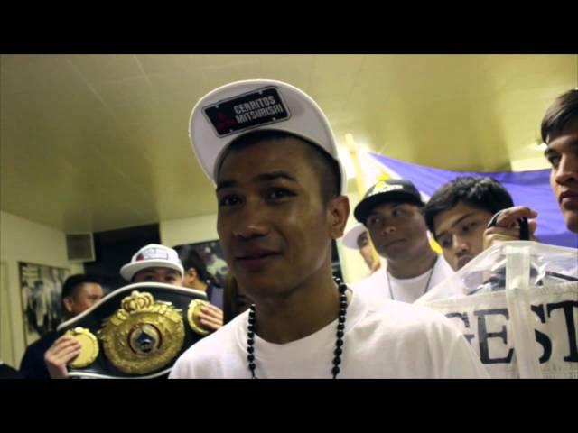 """Mercito """"No Mercy"""" Gesta  TKO victory"""