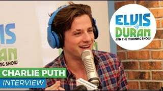 Charlie Puth Interview | The Penis Song, Greg T Stripping and More on Elvis Duran Show