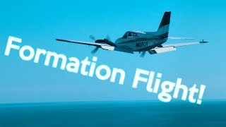14: Formation Flying   #Cessna and Baron   Steph is in FL!