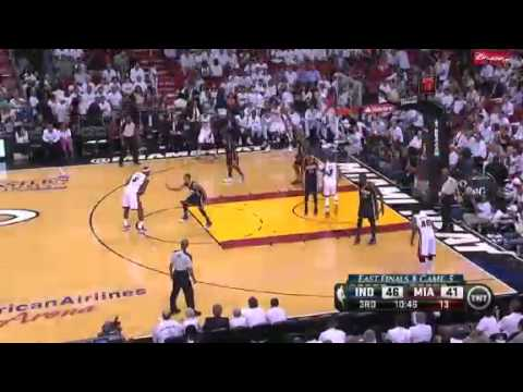 Indiana Pacers Vs Miami Heat - NBA Eastern Conference Finals 2013 Game 5 - Full Highlights 5/30/13