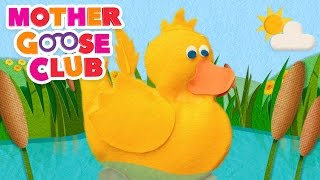 Six Little Ducks | Mother Goose Club Songs for Children