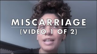 Missed Miscarriage | Waiting To Miscarry | (Video 1 of 2)