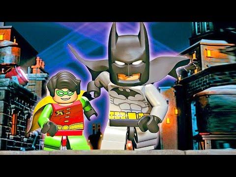 Крутые ЛЕГО. Бэтмен и Робин