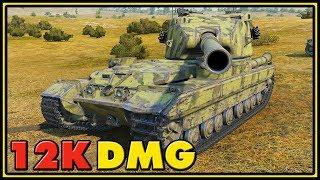 FV215b (183) - 12K Dmg - World of Tanks Gameplay