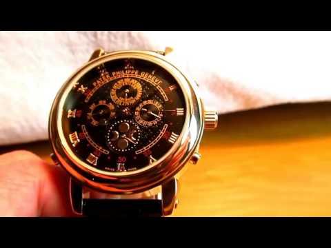 Часы patek philippe sky moon tourbillon оригинал как отличить оригинал