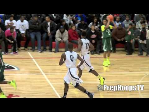 Michigan commit Derrick Walton Jr. 2013 Chandler Park Academy highlights vs Cass Tech
