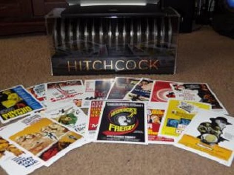 Hitchcock: Ultimate Filmmaker Collection. Unboxing!